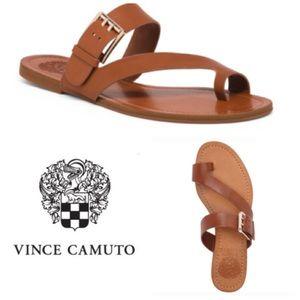 Vince Camuto Tranell leather toe-loop sandal (8.5)